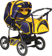 Детская коляска трансформер Adamex Yaris-3
