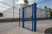 Металлический забор панельного типа в Уфе