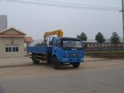 Бортовой грузовик Dong Feng 4х2 с краном-манипулятором 5 т