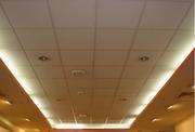 Подвесной потолок в комплекте в наличии.