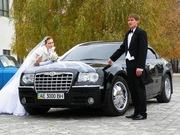 Прокат аренда авто крайслер 300с на свадьбу в Уфе.Прокат украшений .