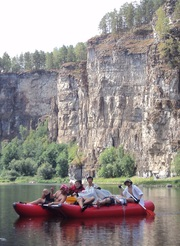 Сплав по реке Ай с 18 по 23 июля