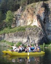 Сплав по рекам Инзер-Сим-Белая с 9 по 10 августа