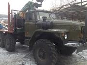 Лесовоз на базе шасси Урал