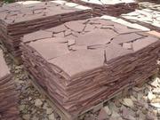плитняк: лемезит,  кварцит (златолит),  доломит,  сланец,  гранит,  известн