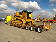 Перевозки негабаритных и тяжеловесных грузов. Аренда трала.