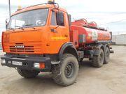 Топливозаправщик на базе а/м Камаз 43118