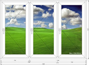 Пластиковые окна и двери по .вашим размерам