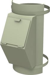 Клапан мусоропровода загрузочный (мусороприемный)