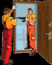Установка всех типов дверей