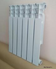 Биметаллические,  алюминиевые и чугунные радиаторы от дилера по низким