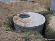 Копка канализации. Выгребные ямы. Шамбо. Траншеи. Слом стен.