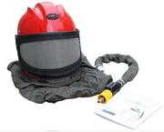 Шлем пескоструйщика с панорамным стеклом S-Blast