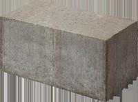 Камень рядовой полнотелый бетонный