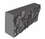 Камень бетонный лицевой