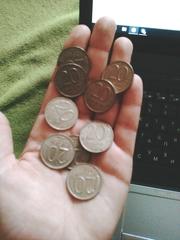 Продаю 20рублевые монеты