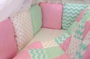 Бортики в кроватку,  подушки для беременных