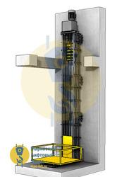 Цепной грузовой подъемник лифт спасет от банкротства