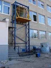 Грузовой лифт для магазина,  склада.