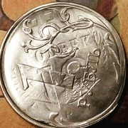1 рубль 2010 года спмд магнитная