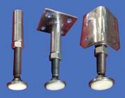 Ножка с шаровой опорой и универсальным креплением для мебели