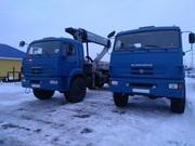 КАМАЗ 43118 тягач с ГМУ